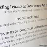 rights of tenant in foreclosure 