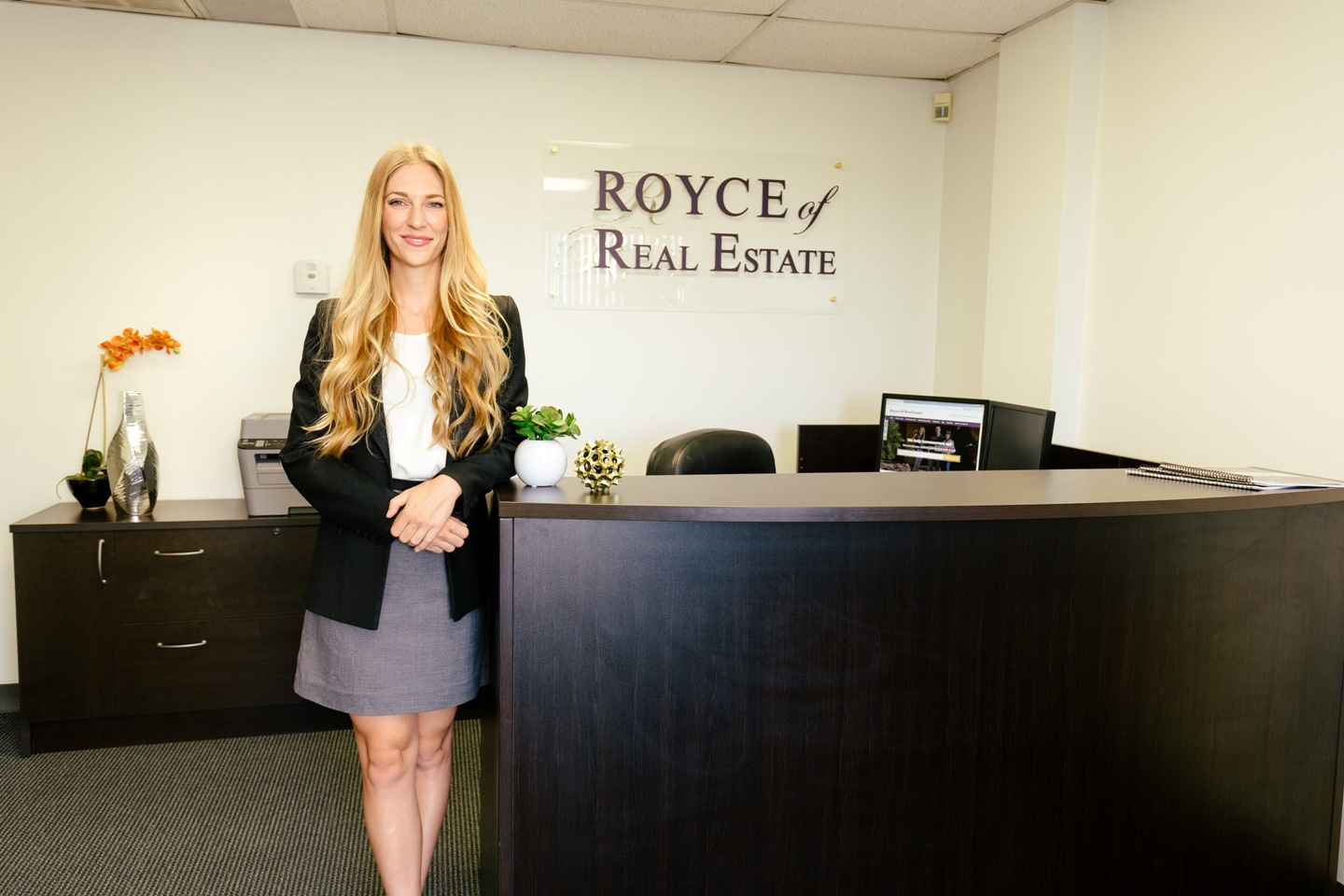 royce of real estate office